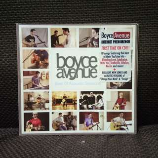 Boyce Avenue CD