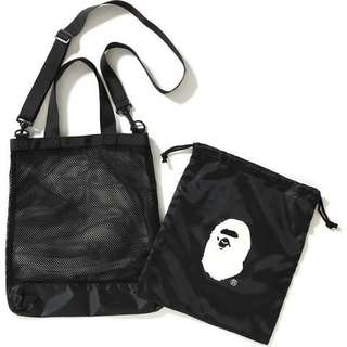 [APE] A Bathing APE 2018 Summer Collection 2In1 Bag
