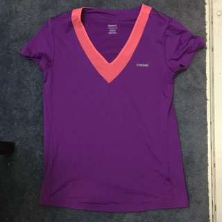Purple Reebox Top Size XS