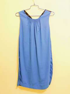 MO&Co. blue dress