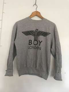 BOY London // Grey Marl Jumper