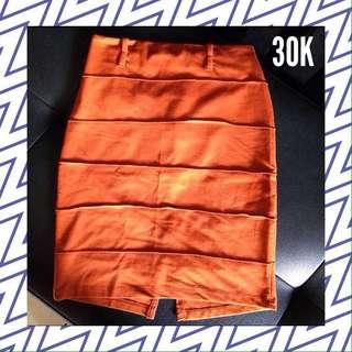 Mustard Skirt Allsize (preloved)