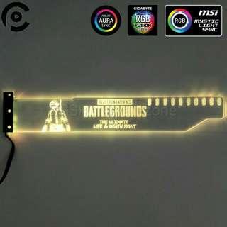Custom LED/RGB Acrylic GPU Brace