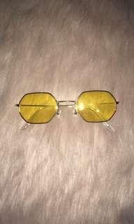 Yellow Hippie Sunglasses