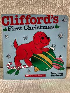 Children's book : Clifford 1st Christmas