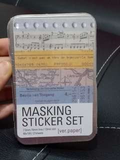 Masking Sticker Tape