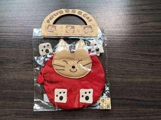 Gift - Cutie Cat Coin/Key Purse