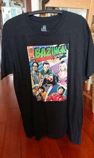 Big bang theory 漫畫風 短袖 t shirt
