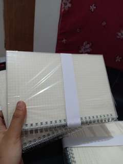 Grid Notebook 2pcs