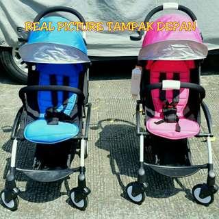 Stroller cabin size merk bibi love [yoyo inspired]