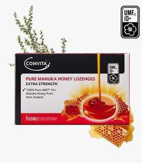 Comvita Pure Manuka Honey Lozenges (UMF10+) 特強純麥蘆卡蜂蜜潤喉糖16粒