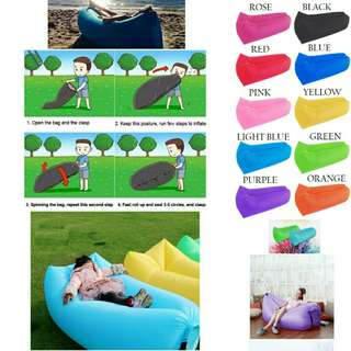Portable Outdoor/Indoor Fast Inflatable Air Lazy Bed