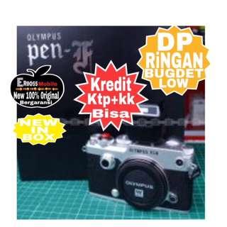 Olympus PEN-F Body only Resmi-kredit Dp 2jt ditoko ktp+kk bisa Wa;081905288895