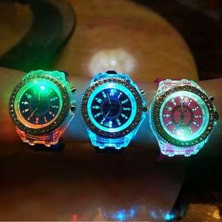 Colorful Led Fashion Watch