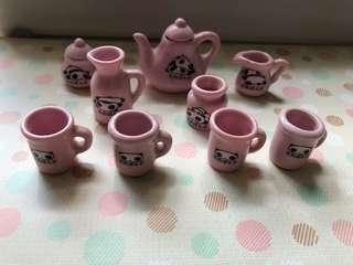 絕版扒地熊陶瓷餐具