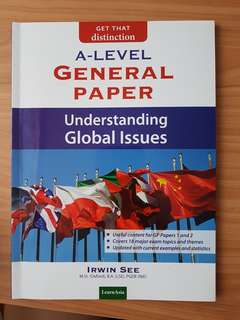 A-Level General Paper - Understanding Global Issues