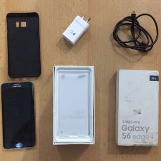 Samsung Galaxy S6 Edge Plus 32gb Blue FULLSET