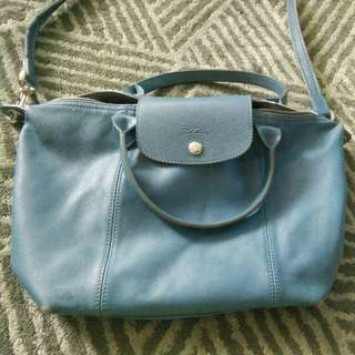 Longchamp cuir leather original small
