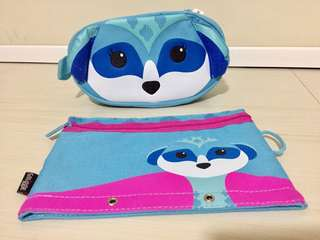 Smiggle Pencil Case Set