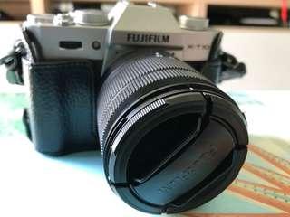 Fujifilm X-T10 with 2 lens