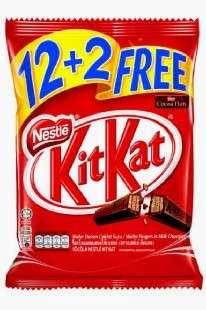 FOR SALE! KitKat Mlik Chocolate (12+2)