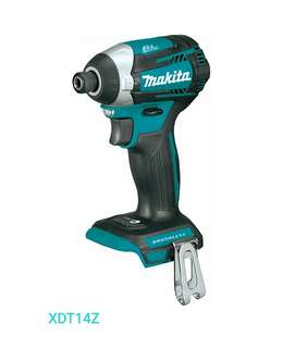 4.8 out of 5 stars32Reviews  Makita XDT14Z 18V LXT Lithium-Ion Brushless Cordless Quick-Shift Mode 3-Speed Impact Driver Bare tool onky (no bargain, 不二價)
