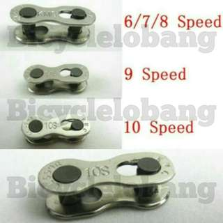 Bicycle Chain Missing Power Link mountain road bike bicycle Connector for 6/7/8/9/10 Speed Quick Master Link Joint