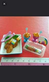 Miniature fast-food Chicken set