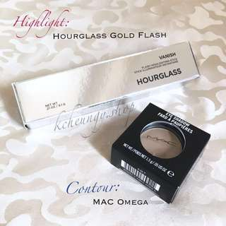 [塑造輪廓必備🔅內有價錢] MAC Omega x Hourglass Vanish Flash Highlighting Stick Gold Flash
