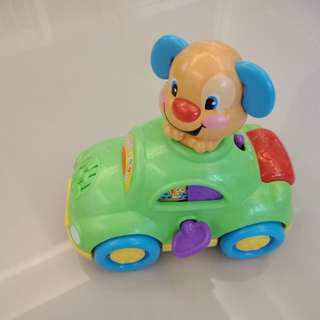 New Fisher Price Musical Toy Car