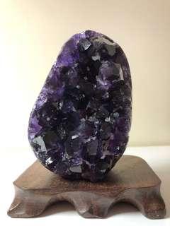烏拉圭頂紫esp大角子紫水晶晶陣
