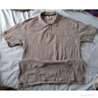 aape polo tee size L