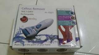 battery operated callous remover