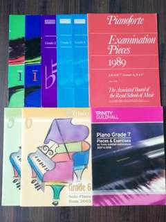 9 Piano Exam Books
