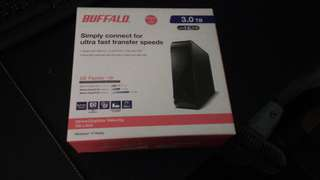 🚚 Buffalo HD-LXU3 3TB硬碟