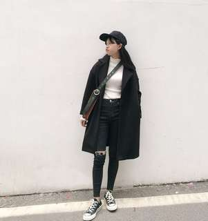 Korean Student style Coat for cold weather