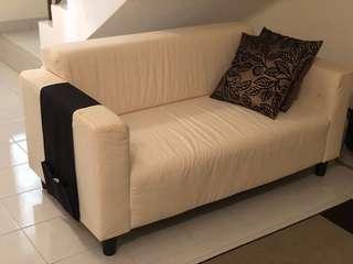 IKEA Klobo two-seat sofa