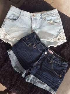 ×2 shorts