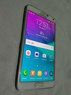 Samsung Galaxy Note 4 White 32Gb
