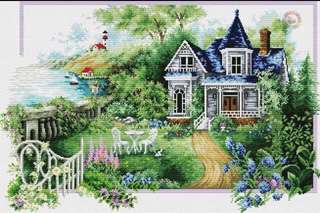 00165 Peaceful Afternoon (Country Mansion View