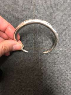 DISCOUNTED- Silver bracelet 銀手鐲