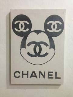 Chanel wall art Size A3