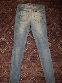 Lee supa skinny jeans