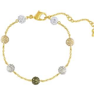 Swarovski Gold Bracelet