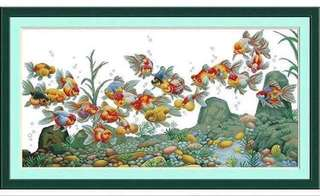 00170 Colorful Koi Fishes
