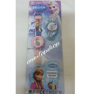 Shop : FROZEN KIDS DIGITAL GLOWING WATCH