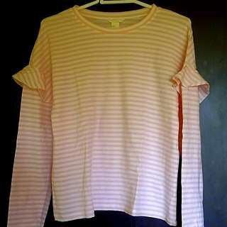 H&M stripes long sleeve