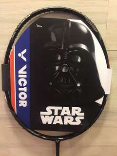 VICTOR STAR WARS BADMINTON LIMITED EDITION (WITH BAG)