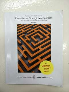 Business Strategy Textbook by McGraw Hill