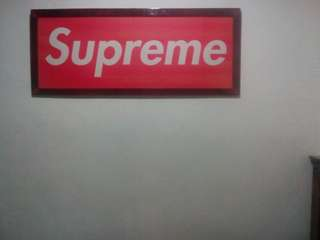 Supreme bogo (4' x 2') wall art